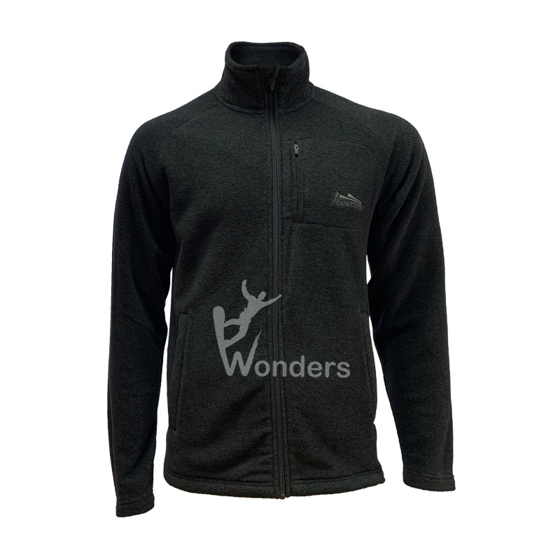 Man's Full zip Micro Casual Fleece Jacket