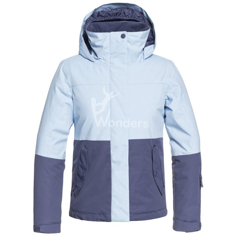 Girls KIDS Jetty Block Snow Hoodie Jacket Ski Wear