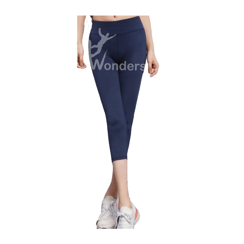 Women's high waisted and hip raising yoga fashion running fitness Capris with Sexy mesh panel Yoga Pants