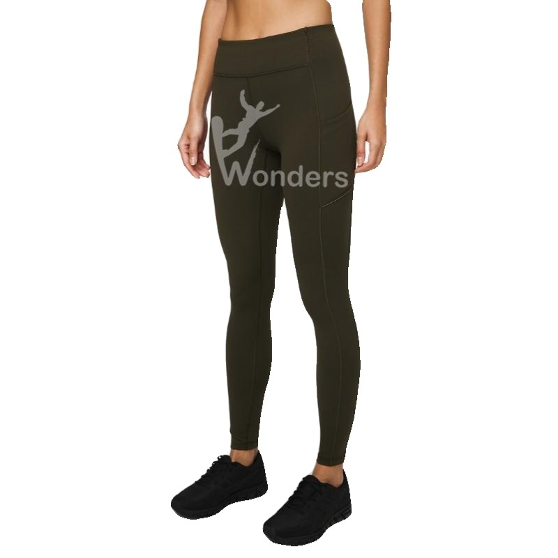 Women's High Waisted  Sport Leggings Ultra Soft Yoga Capri with Pockets 3/4 Length sport Leggings