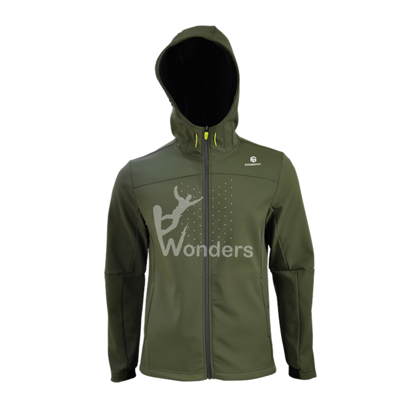 Wonders branded softshell jacket company for sale-2