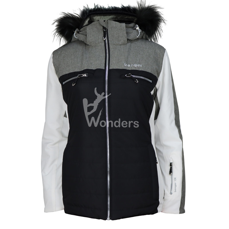 Women's Waterproof Best Ski Jackets Outdoors Snowboarding Jacket with fur