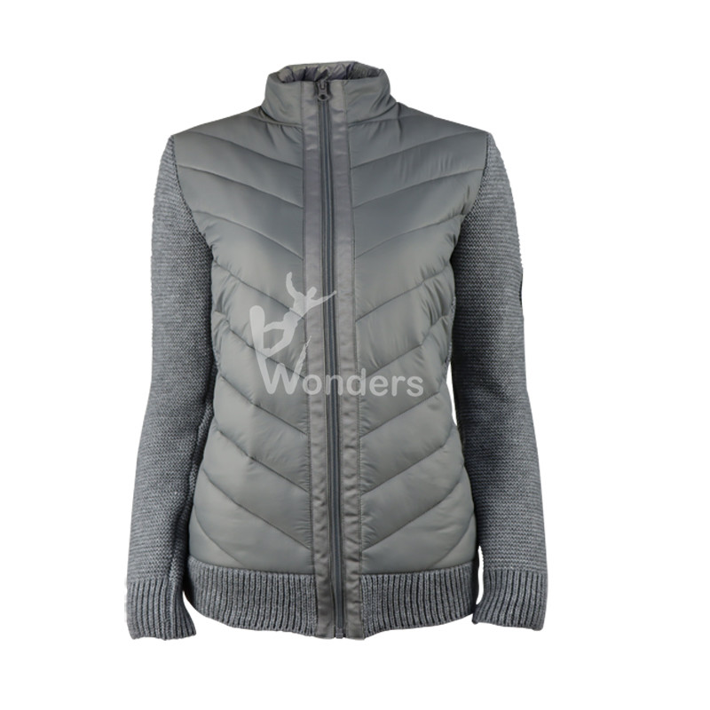 Womens Warm Hybrid Jacket with Melino Wool