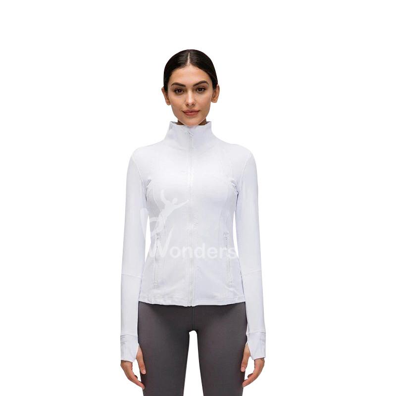 Women's Custom Sports Define Jackets Slim Fit Full-Zip Running Top
