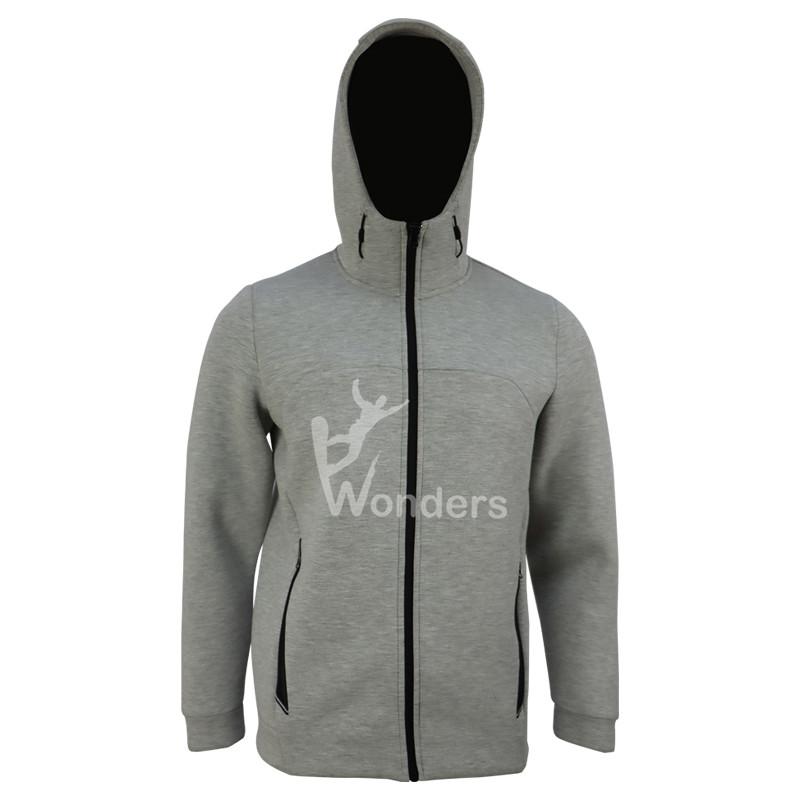 Men's Lightweight Full Zip Hoodie Sweatshirt Cotton Marine Sports Jacket