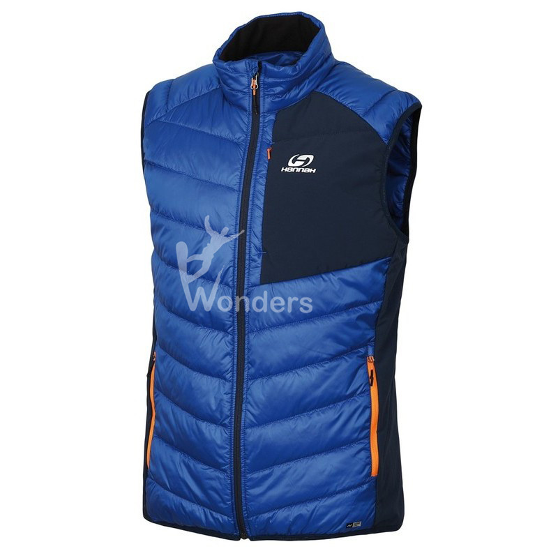 Men's Lightweight Padded Sleeveless Puffer Jacket Vest