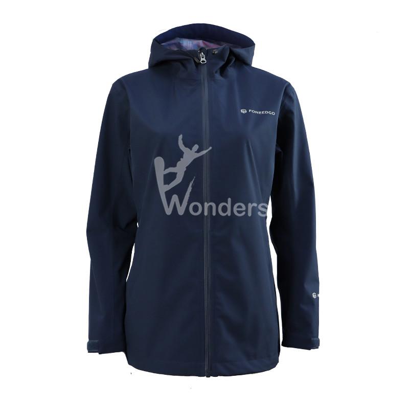 Womens Windproof HardShell Jacket Lightweight Rain Waterproof Jacket