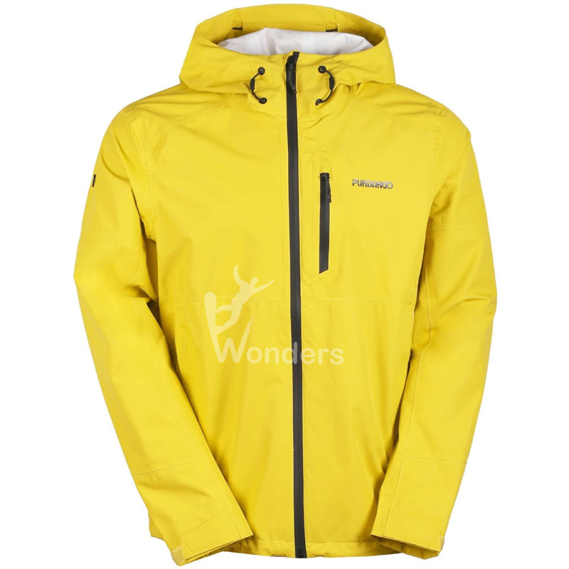 Men's HardShell Jacket Hoodie Windbreaker Waterproof Rain Jacket coat