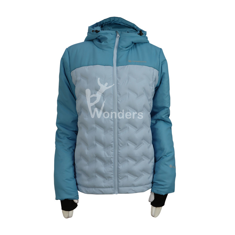 Women's Seemless Heat Waterproof Down Puffer Jacket