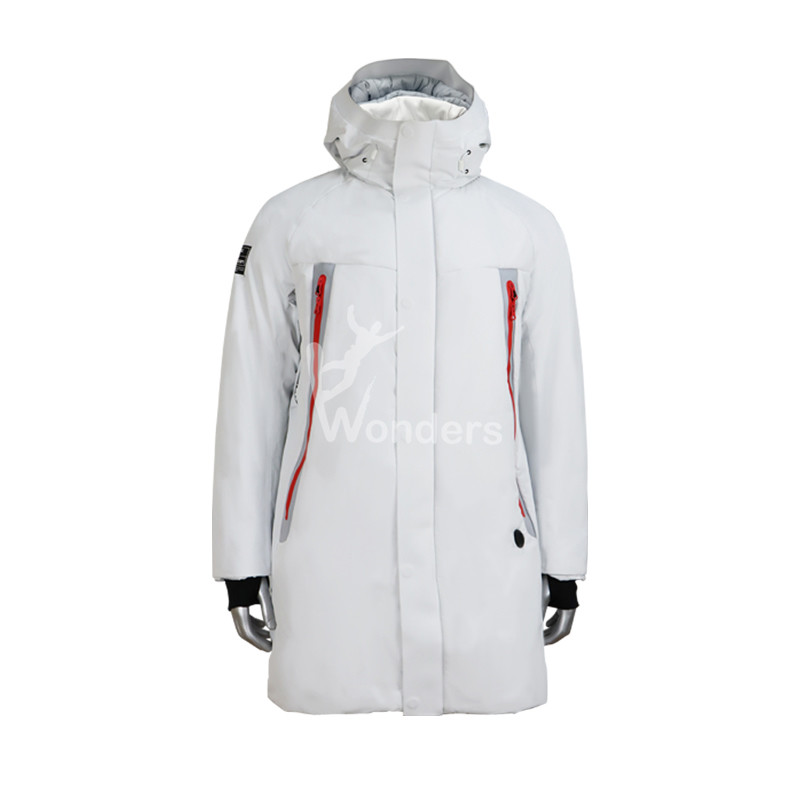 Hooded Puffer Padded Jackets For Men Insulated Heated Coat