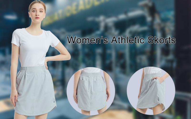 Women's Athletic Skort Tennis Lightweight Active Skirts