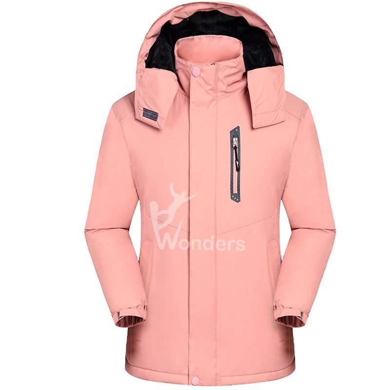 Women's Waterproof Snow Ski Jacket Mountain Windproof Winter Coat with detachable hood