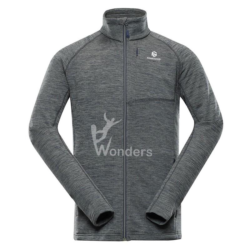 Men's Full-Zip Sweatshirt Lightweight Outdoor Active Jacket