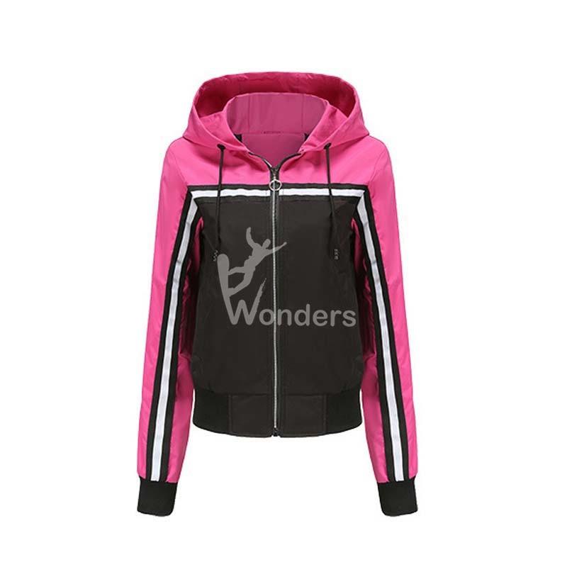 Women's Thin Windbreaker Waterproof Coat Color Combination Casual Jacket Outdoor Raincoat