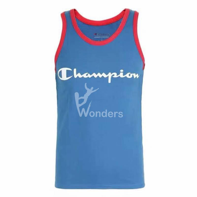 Men's Classic Cotton Tank Jersey Sports TOP
