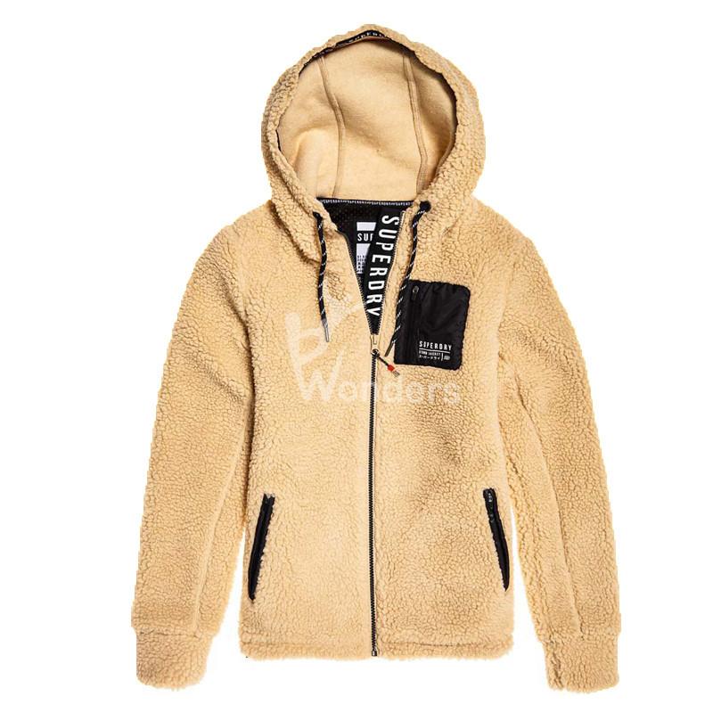 Women's Knit Fleece Jacket Zip Hoodie Pullover