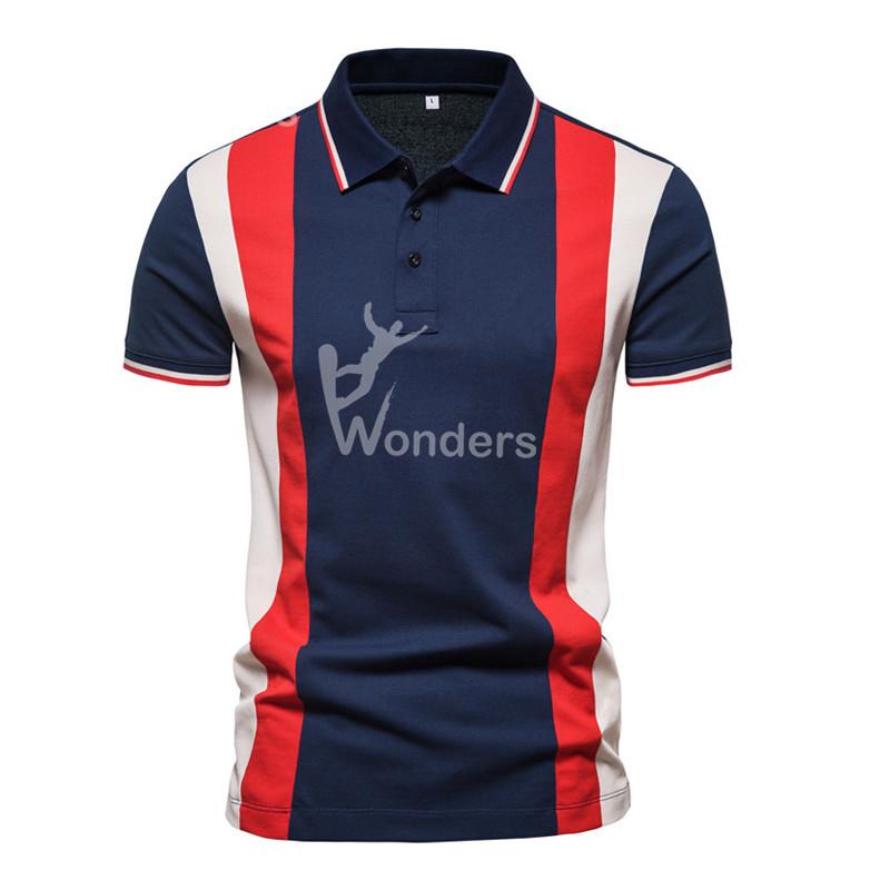 Men's Short Sleeve Colorful Fashion Polo Shirt