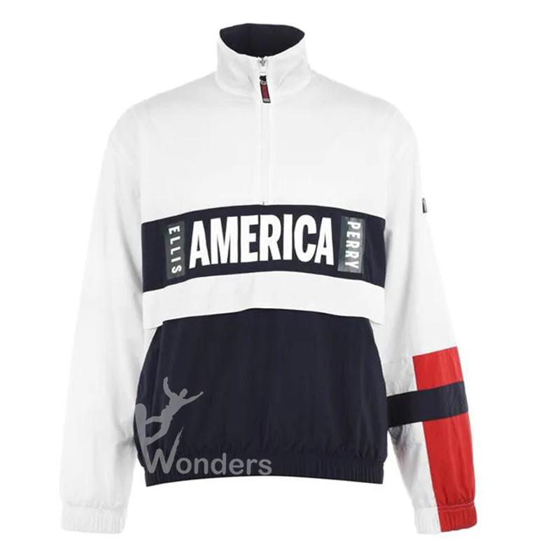 Men's 1/4 zip Jacket Overhead Jacket Lightweight Pullover
