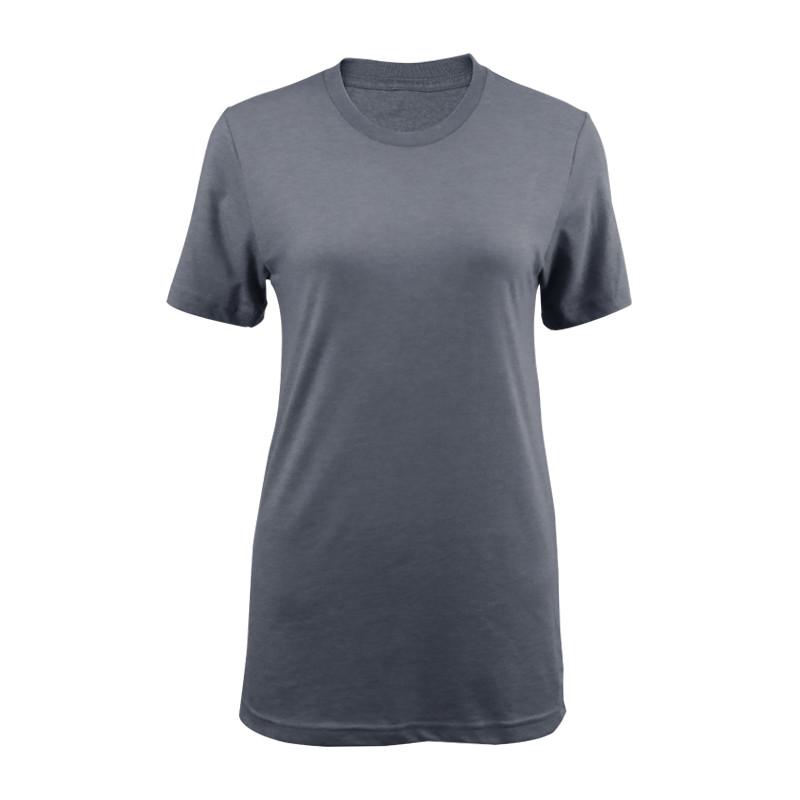 Womens cotton crew neck T-shirt