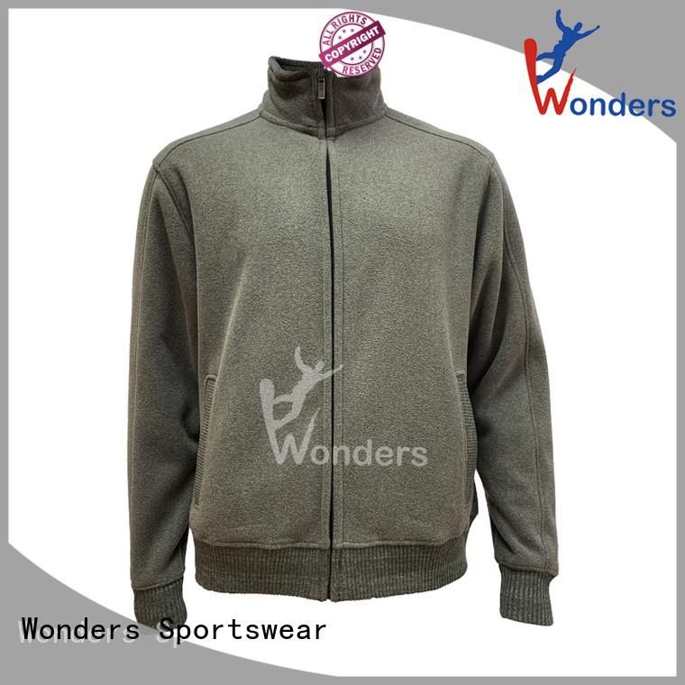 Wonders worldwide polar fleece zip up jacket inquire now bulk buy