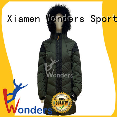 Wonders best value padded parka jacket womens for business to keep warming