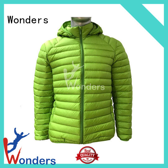 Wonders best rated down jackets from China for sale