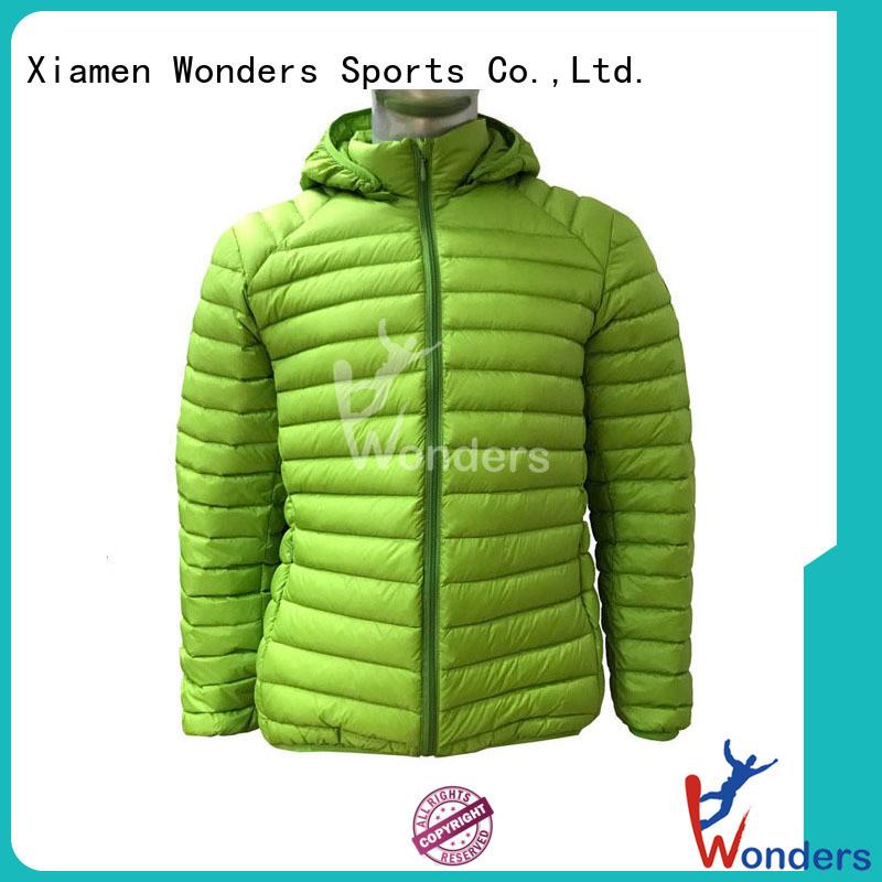 best light goose down jacket supplier for winte