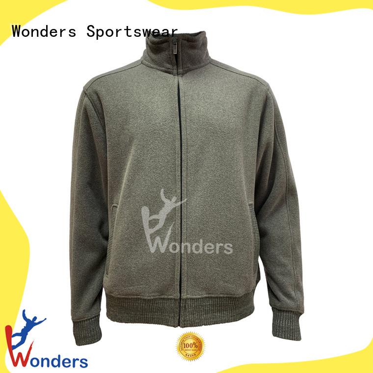Wonders reliable fleece zip up factory for winte