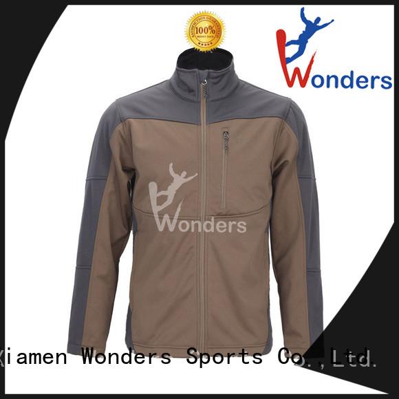 Wonders hot selling waterproof softshell jacket for business for winte