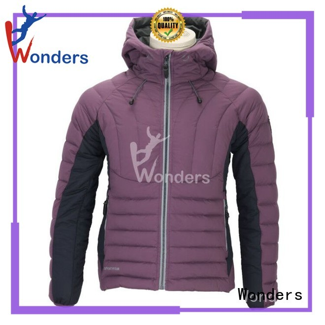 Wonders downjacket with good price for promotion