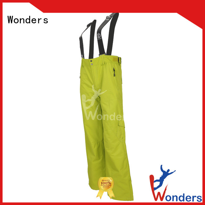 Wonders latest snow boarding pants design bulk production