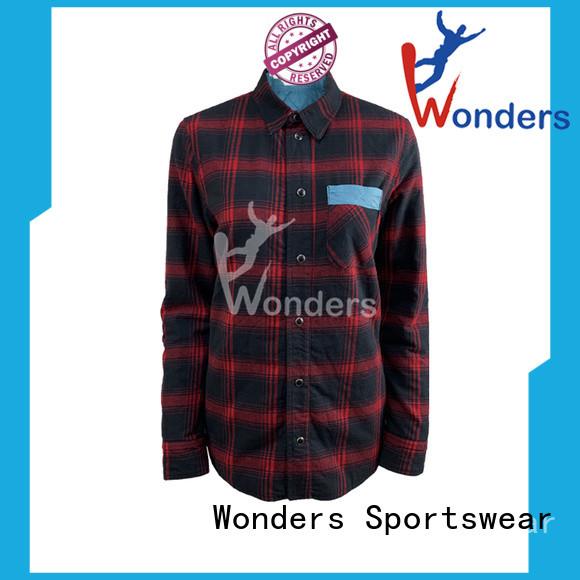 Wonders casual plaid shirts