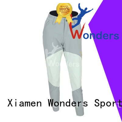Wonders popular slim fit hiking pants factory direct supply for sale