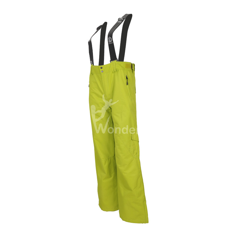 Women's waterproof and breathable ski & snow boarding bib pants with cargo pockets
