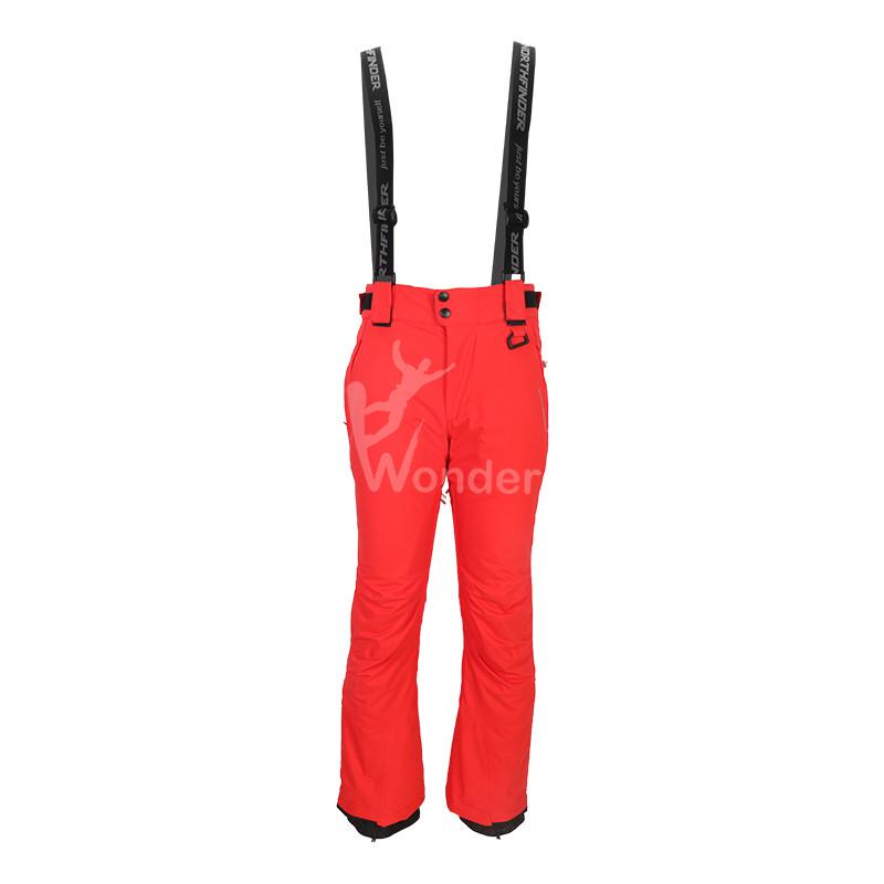 Men's waterproof  insulated ski pants & snow bib  pants