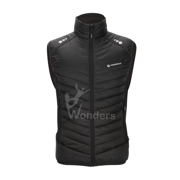 Men's lightweight  padded vest  quilted gilet vest