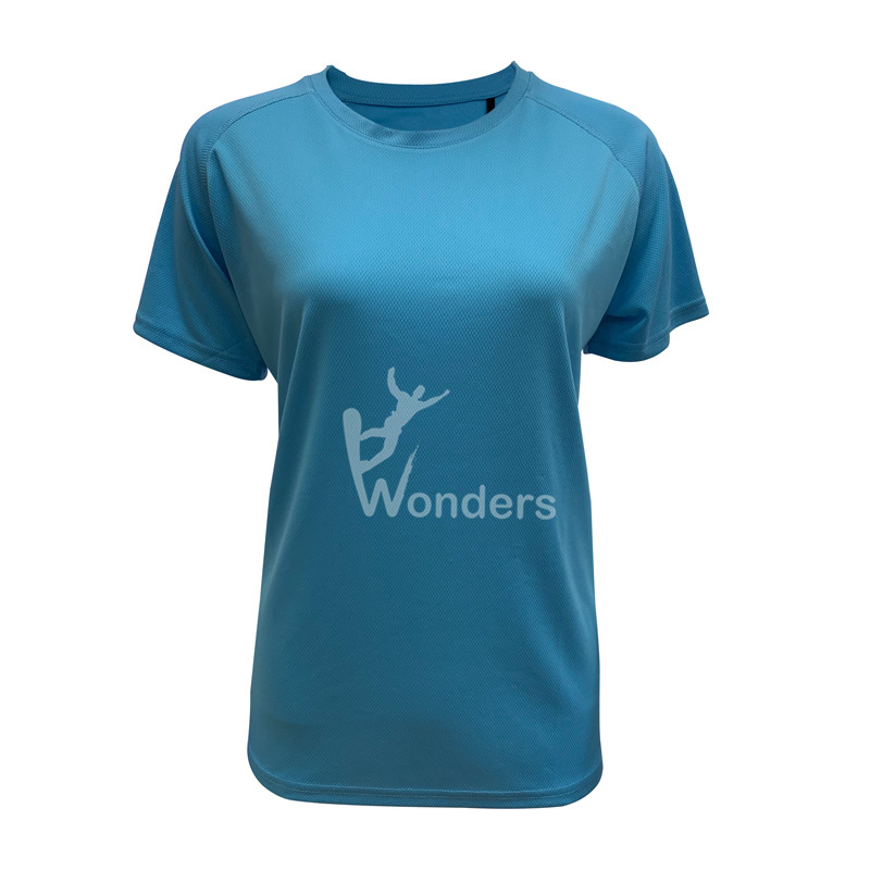 Women's quick dry round neck running tees short sleeve T-shirt