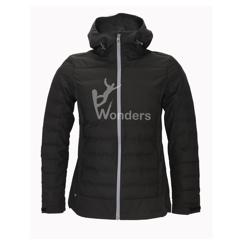 Lady's 3 layer welded tunnel Jacket Padded Coat