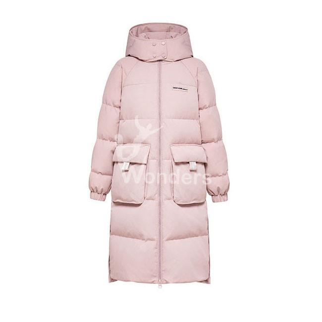 Women's Down Puffer Parka Jacket With Hood Winter Coat