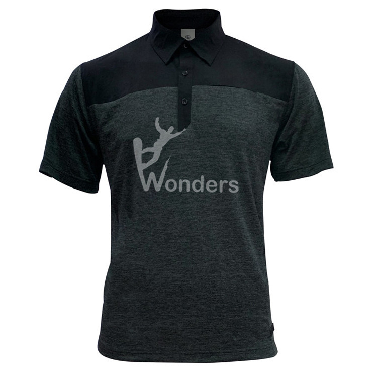 Men's quick dry golf short sleeve Polo tshirt