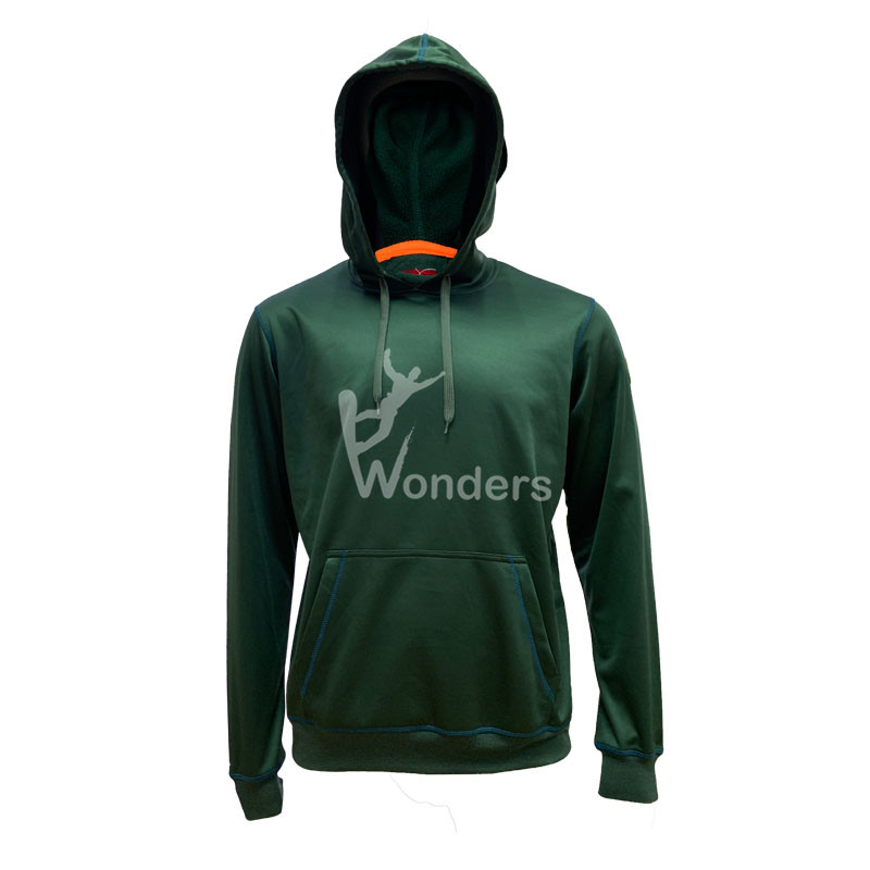 Man's basic pullover hoodie Men's Hooded Sweatshirt