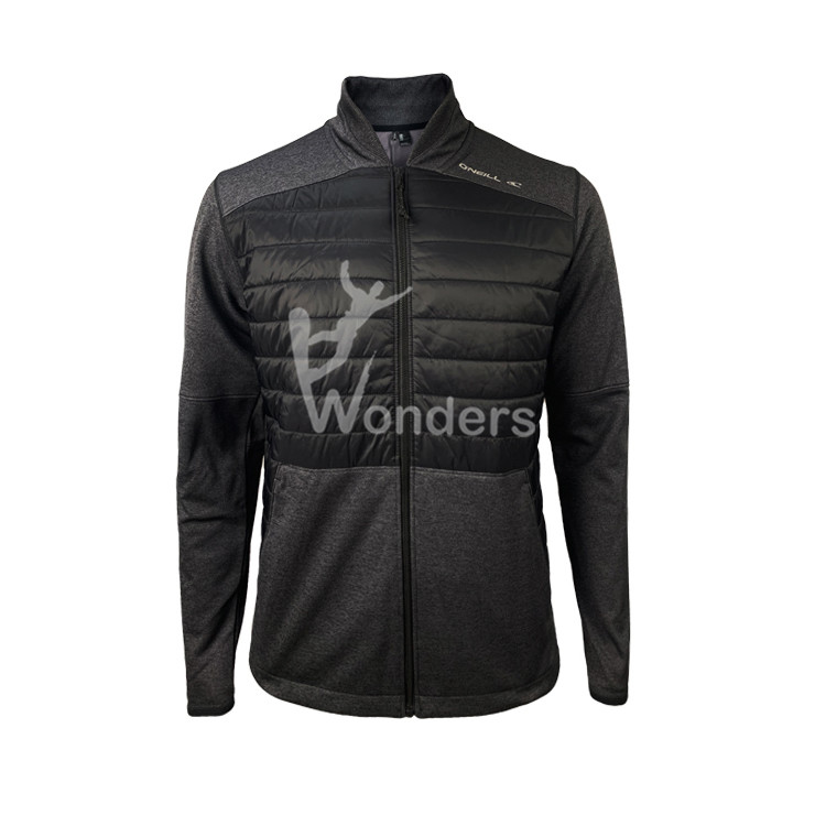 Men's Hybrid Sport Fleece Jacket