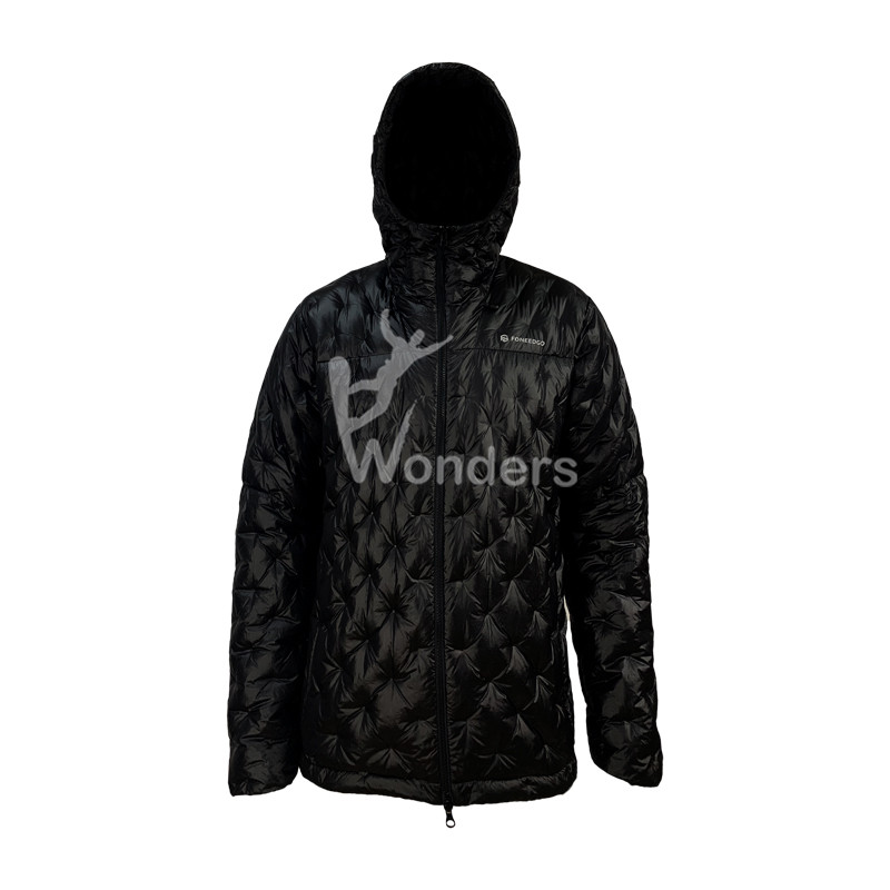Men's Seemless Ultra Light down jacket Hoodie Jacket