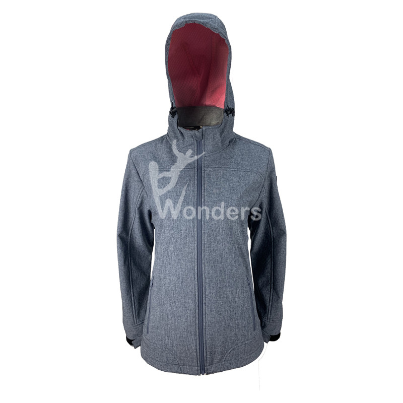 Ladies Waterproof Windproof Soft Shell Jacket