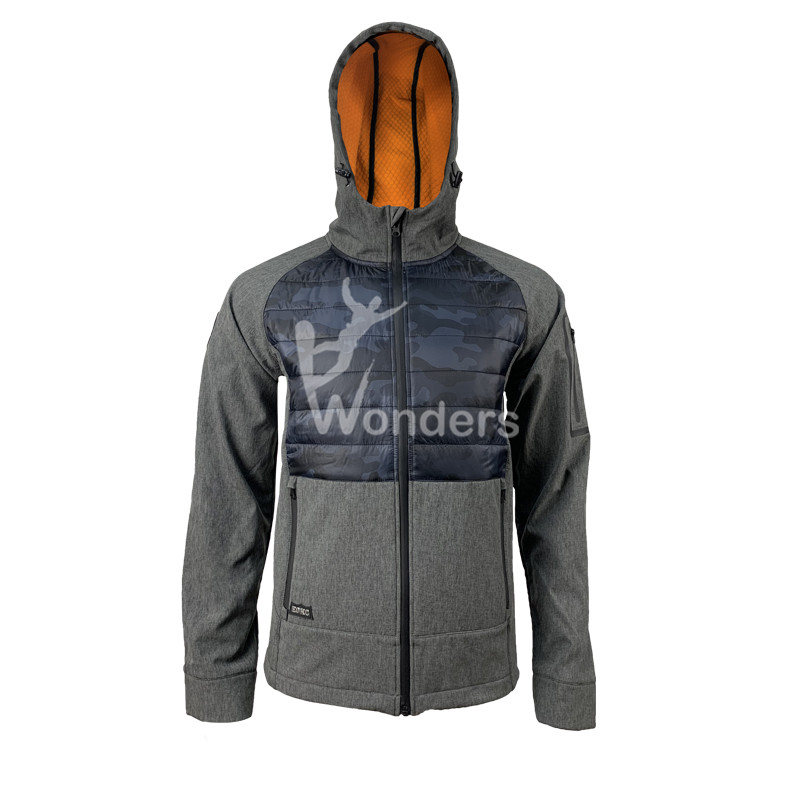 Men's Waterproof Mountain Soft Shell Hybrid Jacket