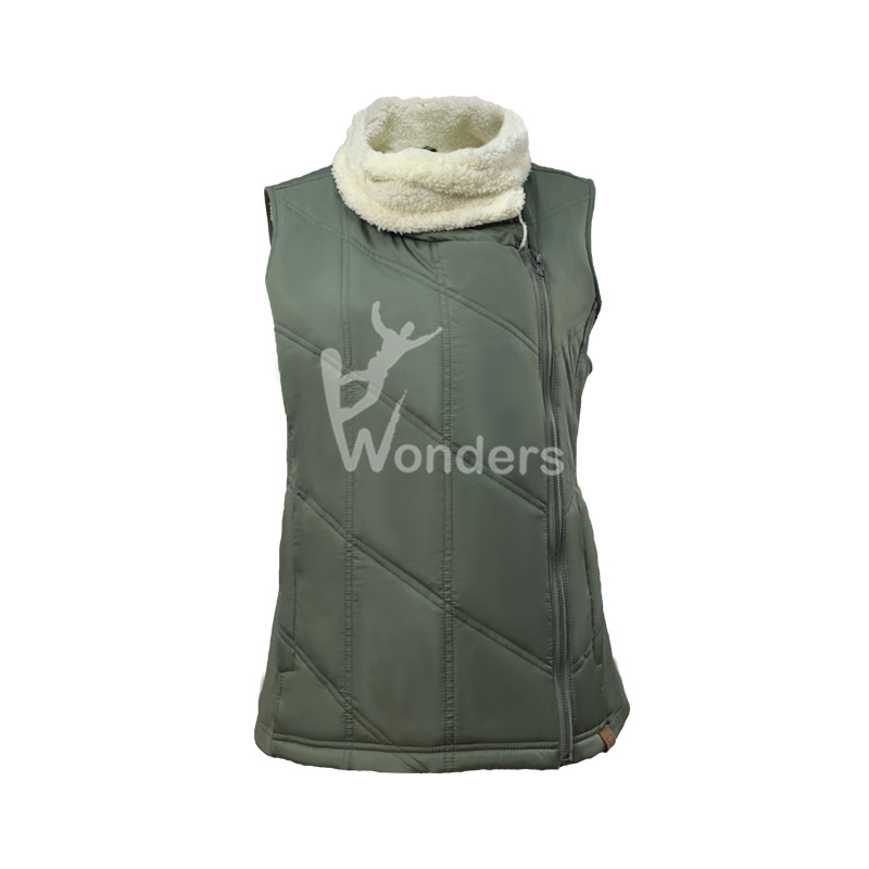 Womens Olive Ladies Lightweight Vest