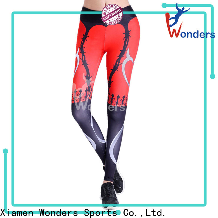 Wonders sports compression pants design to keep warming