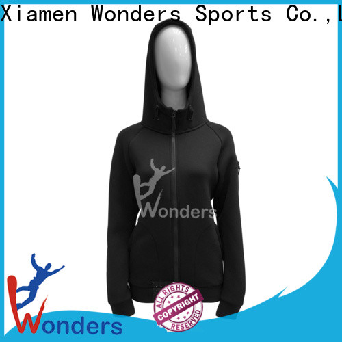 Wonders latest plain full zip hoodies best manufacturer for sports