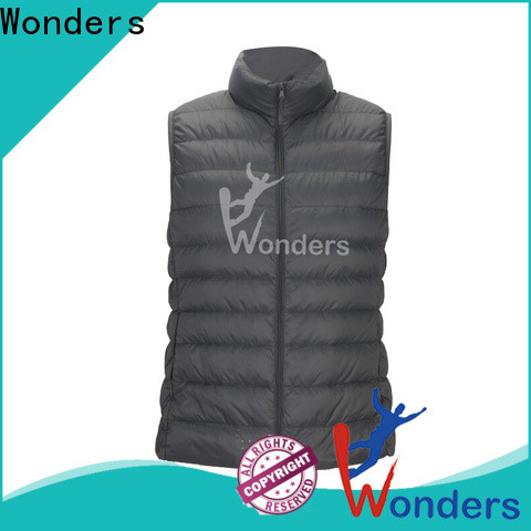 high quality womens lightweight puffer vest from China to keep warming
