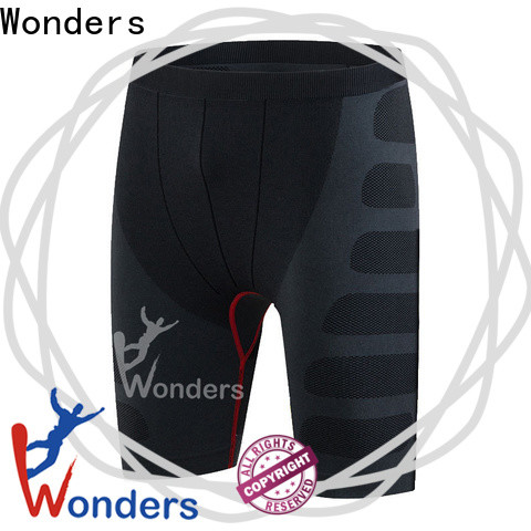 Wonders durable gym compression shorts factory for sports